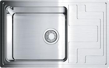 Кухонная мойка Omoikiri Mizu 78-LB-IN универсальная нерж.сталь оборачиваемая чаша (4973729) omoikiri mizu 71 1 l