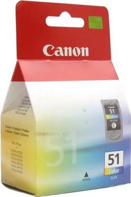 Фото - Картридж Canon CL-51 0618 B 001 Цветной копилка котик цветной керамика 12х9 12 7365 13464 1