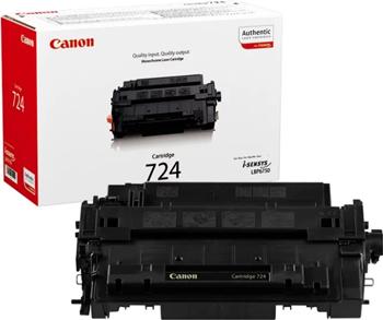 Картридж Canon 724 3481 B 002 Чёрный