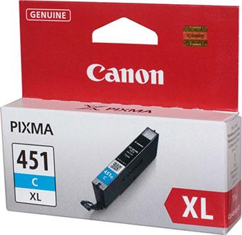 Картридж Canon CLI-451 C XL 6473 B 001 Голубой