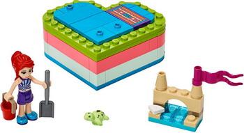 Конструктор Lego Friends 41388 Летняя шкатулка-сердечко для Мии lego friends 41354 шкатулка сердечко андреа конструктор