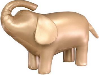 Пуф Leset Слон 2 Золотистый 2000026635246 россия чайница слон 1