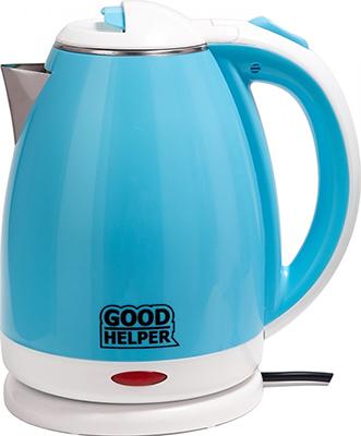 Чайник электрический GoodHelper KPS-180C голубой цена и фото