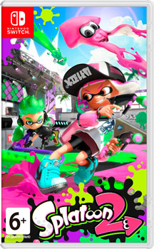 Игра для приставки Nintendo Switch: Splatoon 2