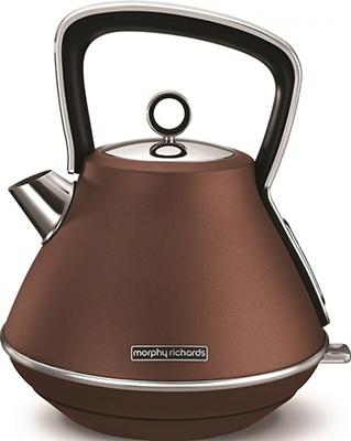 Чайник электрический Morphy Richards Evoke Pyramid Bronze 100101EE
