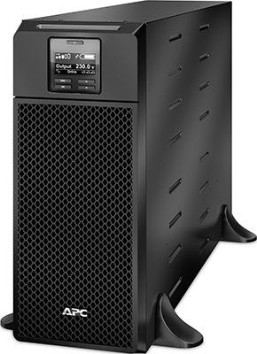 Источник бесперебойного питания APC Smart-UPS SRT SRT6KXLI 6000Вт 6000ВА черный источник бесперебойного питания apc smart ups srt 1500va rm 230v 1500va черный srt1500rmxli