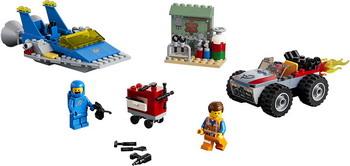 Конструктор Lego Мастерская «Строим и чиним» Эммета Бенни! 70821