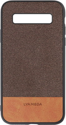 Чехол (клип-кейс) Lyambda CALYPSO для Samsung Galaxy S10 (LA03-CL-S10-BR) Brown