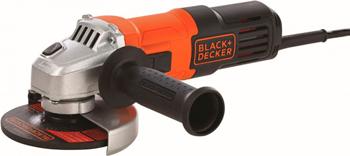 Угловая шлифовальная машина (болгарка) Black&Decker G650 черно-оранжевый
