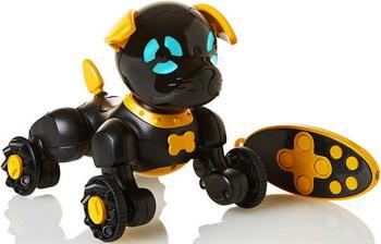 Робот-щенок Wow Wee Чиппи черный 2804-3819