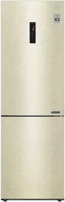 Двухкамерный холодильник LG GA-B 459 CESL Бежевый