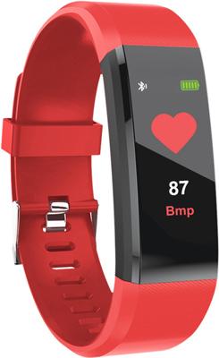 Фитнес браслет Qumann QSB 11 Red цена и фото