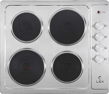 Встраиваемая электрическая варочная панель Lex EVS 640 IX цена и фото