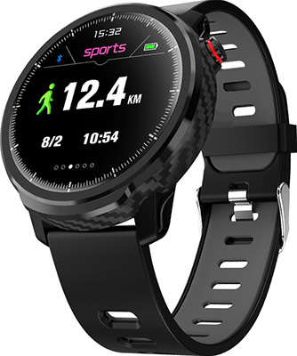 Спортивные умные часы JET SPORT SW-8 черный