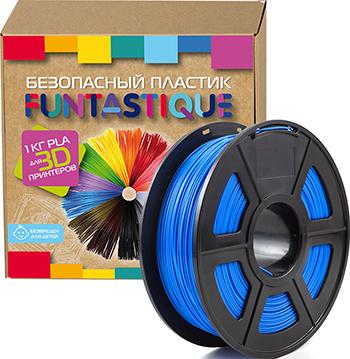цены PLA-пластик в катушке Funtastique PLA-1KG-UM 1.75 мм 1 кг (Ультрамарин)