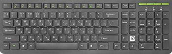 Клавиатура беспроводная Defender UltraMate SM-536 RU черный мультимедиа (45536) беспроводная аудиосистема samsung wam1500 ru