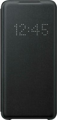 Чехол (клип-кейс) Samsung S20 (G980) LED-View black EF-NG980PBEGRU аксессуар чехол samsung galaxy note 8 led view cover gold ef nn950pfegru