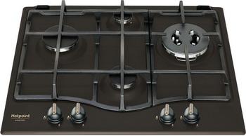 газовая варочная панель hotpoint ariston 7hpcn 640t ow r ha Встраиваемая газовая варочная панель Hotpoint-Ariston PCN 640T(AN) GH R /HA