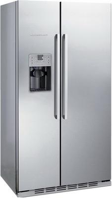 Встраиваемый холодильник Side by Side Kuppersbusch KEI 9750-0-2 T сталь встраиваемый холодильник side by side kuppersbusch kei 9750 0 2 t сталь