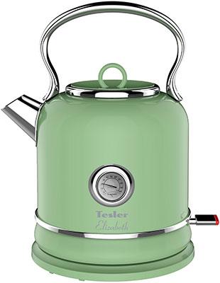 Фото - Чайник электрический TESLER KT-1745 GREEN чайник tesler kt 1755 red