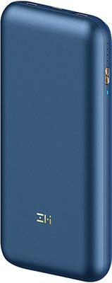 Внешний аккумулятор Xiaomi Power Bank ZMI 10 PRO 20000 mAh 65W Type-C Quick Charge 3.0  Power Delivery 3.0 (QB823) (темно-синий