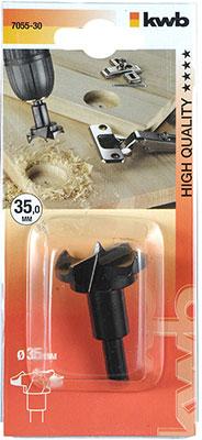 Сверло для шарниров Kwb 35 мм 7055-30