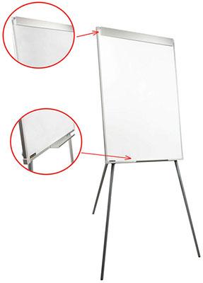 Доска-флипчарт магнитно-маркерная Brauberg (70х100 см) стандарт 235526