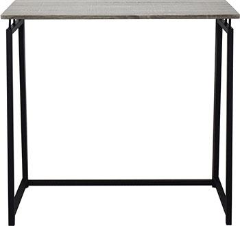 Стол на металлокаркасе Brabix LOFT CD-001 (ш800*г440*в740мм) складной цвет дуб антик 641210 стеллаж brabix loft sh 003 ш600 г350 в1500мм 5 полок цвет дуб антик 641235
