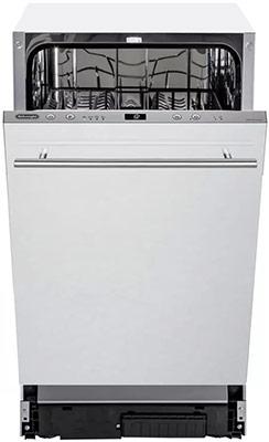 Полновстраиваемая посудомоечная машина De'Longhi.