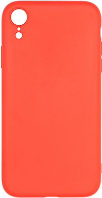 Фото - Чеxол (клип-кейс) Eva для Apple IPhone XR - Красный (MAT/XR-R) чеxол клип кейс eva для apple iphone xr чёрный 7279 xr b