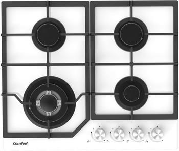 Встраиваемая газовая варочная панель Comfee CGH610GW