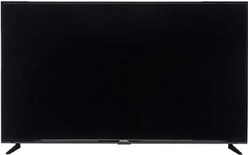 Фото - 4K (UHD) телевизор Hyundai 65'' H-LED65EU1311 Smart Яндекс черный телевизор hyundai h led43eu1312 яндекс 43 ultra hd 4k