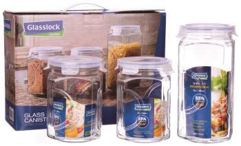 Набор контейнеров Glasslock IG-534 набор контейнеров для масла и соусов 2 штуки glasslock ig 662
