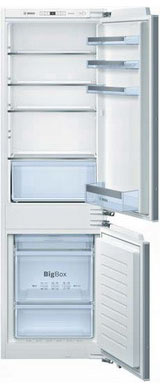 Встраиваемый двухкамерный холодильник Bosch KIN 86 VF 20 R встраиваемый двухкамерный холодильник siemens ki 86 nvf 20 r
