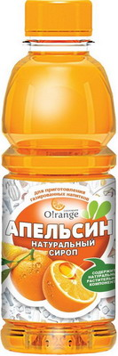 Сироп для приготовления газированной воды Orange Апельсин 0 5 SYR-05 APE