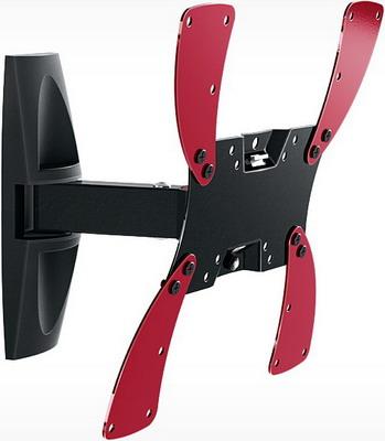 Фото - Кронштейн для телевизоров Holder LCDS-5020 черный глянец кронштейн для телевизора holder lcds 5020 белый