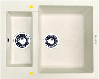 Кухонная мойка Zigmund amp Shtain RECHTECK 600.2 каменная соль