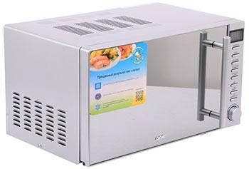 Микроволновая печь - СВЧ BBK 20 MWS-721 T/BS-M серебро цена и фото