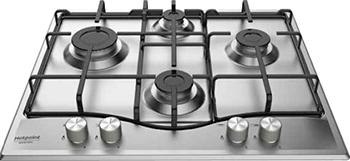 Встраиваемая газовая варочная панель Hotpoint-Ariston PCN 642 IX/HA RU газовая плита hotpoint ariston hs5g1pmw ru