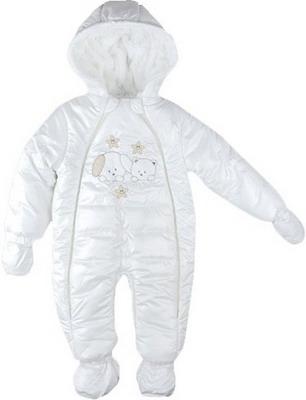 Комбинезон Buude Рт.74 Экрю комплект одежды детский клякса цвет зеленый экрю 37 301 размер 74