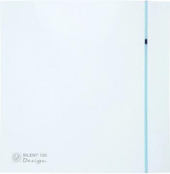 Вытяжной вентилятор Soler & Palau Silent-100 CRZ Design (белый) 03-0103-119 вытяжной вентилятор soler amp palau silent 100 crz design 4c слоновая кость 03 0103 173