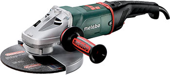 Угловая шлифовальная машина (болгарка) Metabo WE 22-230 MVT 2200 вт 606464000 шлифовальная машина metabo w24 230mvt 2400вт 606467000
