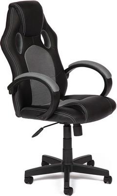 Кресло Tetchair RACER GT (кож/зам ткань черный/серый 36-6/12) кресло tetchair runner кож зам ткань черный жёлтый 36 6 tw27 tw 12