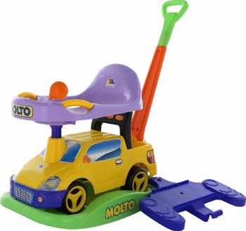 Автомобиль-каталка Molto ''Пикап'' многофункциональный - №2 желтый 63113_PLS 70678 molto автомобиль каталка disney