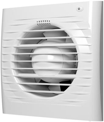 Вентилятор осевой вытяжной ERA с обратным клапаном датчиком влажности с таймером 5C HT D 125