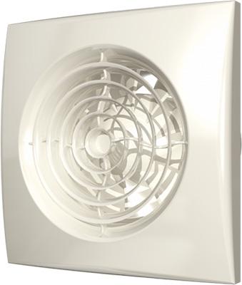 Вентилятор осевой вытяжной DiCiTi D 100 декоративный AURA 4 Ivory
