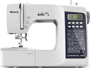 Швейная машина Minerva Experience 1000 M-EXP 1000 распошивальная машина minerva cs 1000 pro