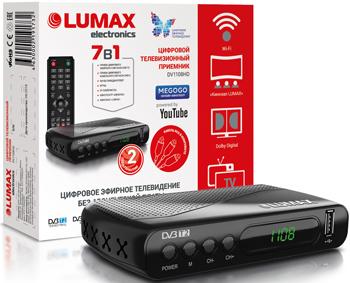 Фото - Цифровой телевизионный ресивер Lumax DV 1108 HD алексей радов год