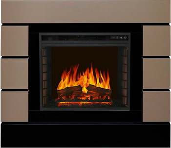 Каминокомплект Royal Flame Lindos с очагом Vision 23 EF LED FX Beige Grey 64935279164917000