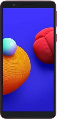 Смартфон Samsung Galaxy A01 Core SM-A013F 16Gb 1Gb красный смартфон samsung galaxy a01 core 1 16gb красный